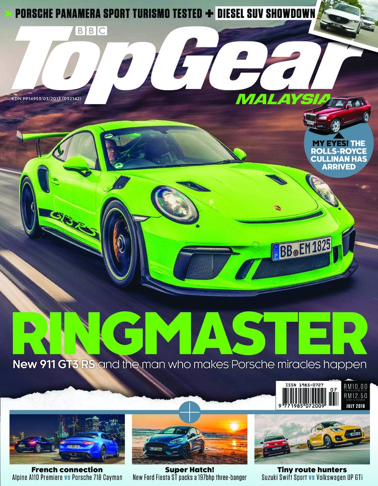 Top Gear Malaysia Digital Magazine July 2018