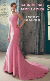 Cover Gaun Merah Jambu Amira oleh Ruli Lesmono