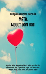 Cover MATA, MULUT, & HATI oleh Agustina