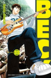Beck 33 by Harold Sakuishi Cover