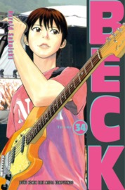 Beck 34 by Harold Sakuishi Cover