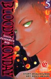 Cover LC: Bloody Monday Season 2 - Pandora's Box Vol. 05 oleh Ryou Ryumon / Kouji Megumi
