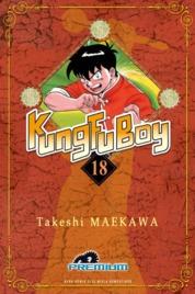 Cover Kungfu Boy (Premium) Vol. 18 oleh Takeshi Maekawa