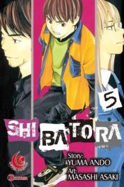 Cover LC: Shibatora 05 oleh Yuma Ando / Masashi Asaki