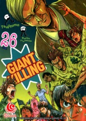 LC: Giant Killing 26 by Masaya Tsunamoto / Tsujitomo Cover