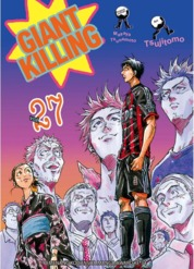LC: Giant Killing 27 by Masaya Tsunamoto / Tsujitomo Cover