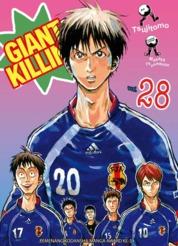 Cover LC: Giant Killing 28 oleh Masaya Tsunamoto / Tsujitomo