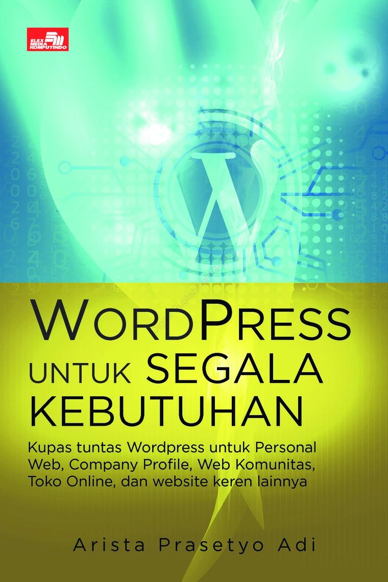 Buku Digital Wordpress untuk Segala Kebutuhan oleh Arista Prasetyo Adi