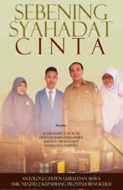 Cover Sebening Syahadat Cinta oleh Vania Ulfa Sabrina