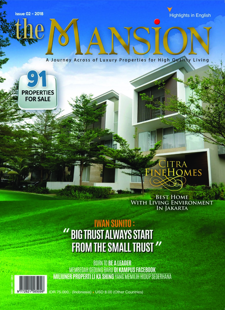 Majalah Digital the MANSION ED 02 Desember 2018