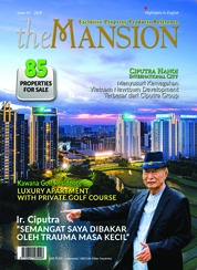 The MANSION Magazine Cover ED 01 August 2018