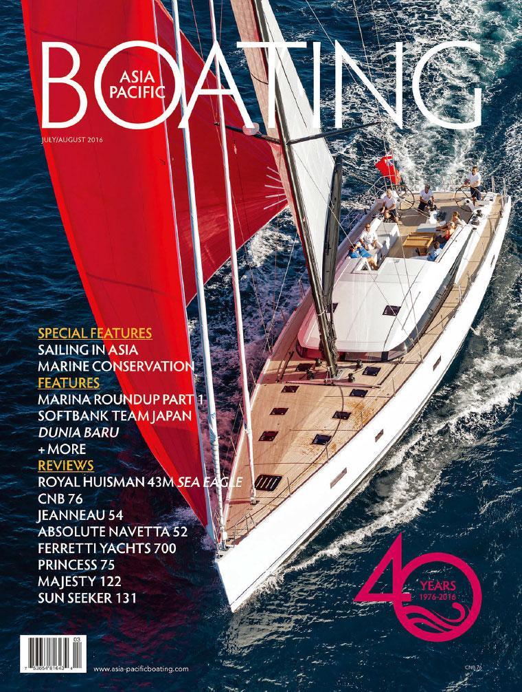 Majalah Digital ASIA PACIFIC BOATING Juli–Agustus 2016