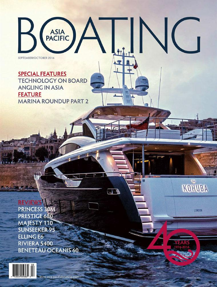 Majalah Digital ASIA PACIFIC BOATING September–Oktober 2016