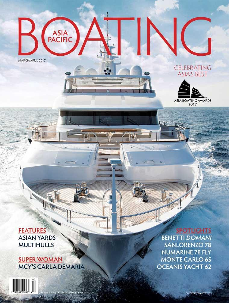 Majalah Digital ASIA PACIFIC BOATING Maret–April 2017