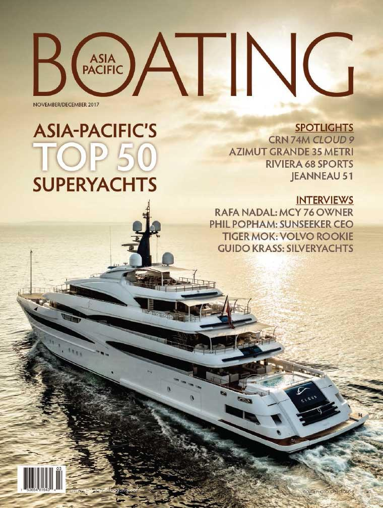 Majalah Digital ASIA PACIFIC BOATING November–Desember 2017
