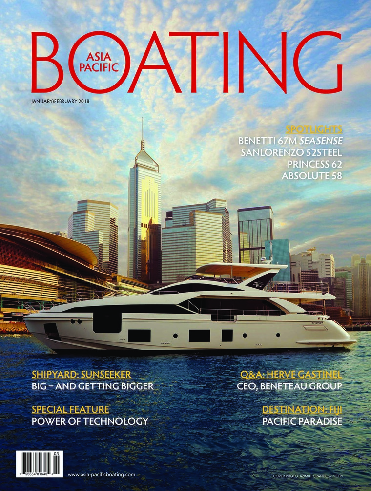 Majalah Digital ASIA PACIFIC BOATING Januari–Februari 2018