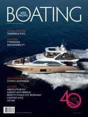 ASIA PACIFIC BOATING Magazine Cover November–December 2016