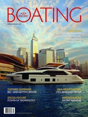 ASIA PACIFIC BOATING Magazine Cover January–February 2018