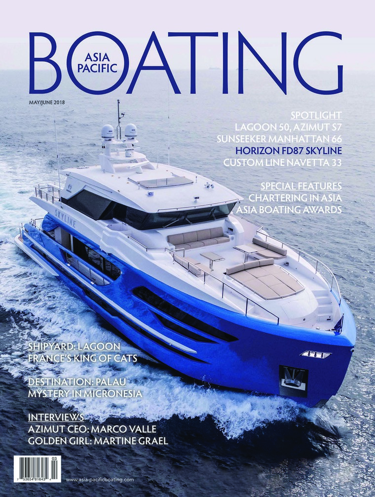 Majalah Digital ASIA PACIFIC BOATING Mei-Juni 2018