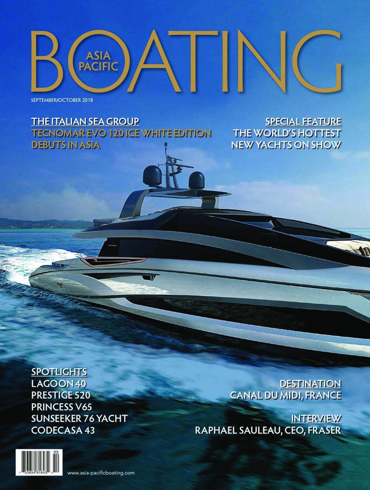 Majalah Digital ASIA PACIFIC BOATING September-Oktober 2018