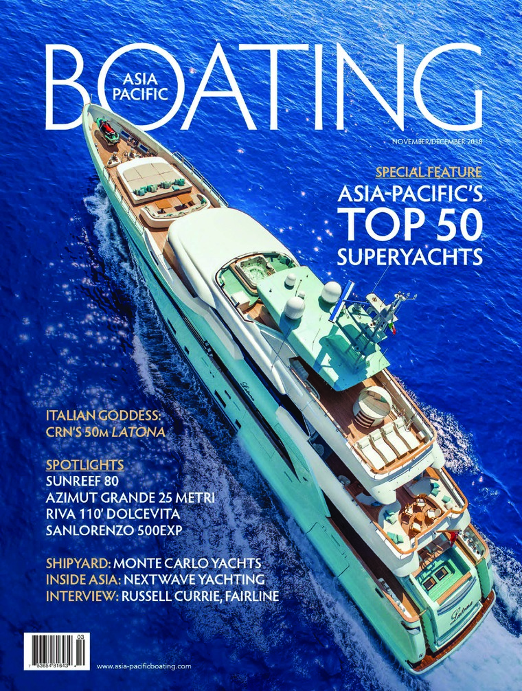 ASIA PACIFIC BOATING Digital Magazine November-December 2018