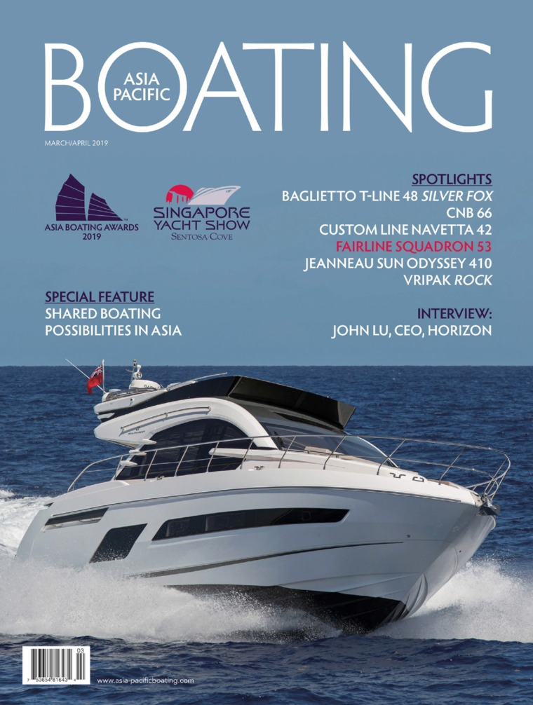 Majalah Digital ASIA PACIFIC BOATING Maret-April 2019