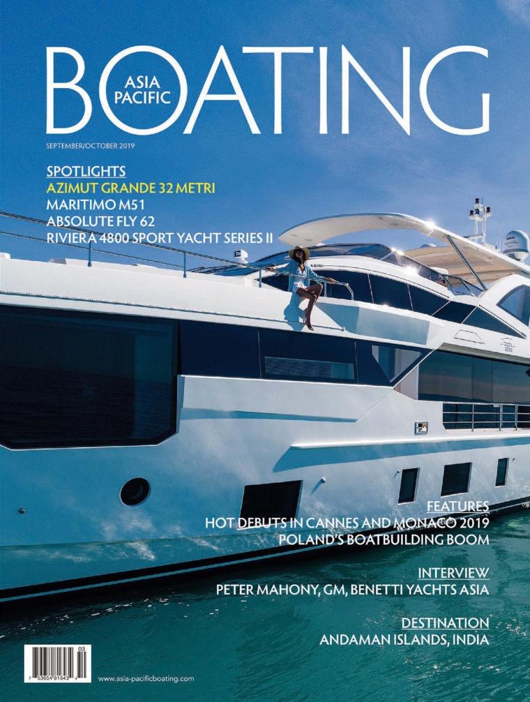 ASIA PACIFIC BOATING Digital Magazine September-October 2019