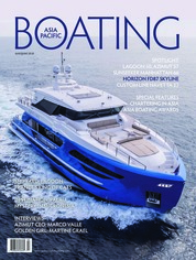ASIA PACIFIC BOATING Magazine Cover May-June 2018