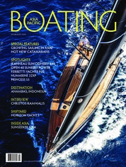 ASIA PACIFIC BOATING Magazine Cover July-August 2018