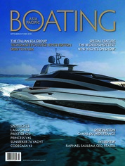 ASIA PACIFIC BOATING Magazine Cover September-October 2018