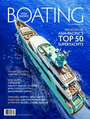 ASIA PACIFIC BOATING Magazine Cover November-December 2018