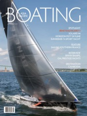 ASIA PACIFIC BOATING Magazine Cover July-August 2019