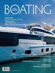 ASIA PACIFIC BOATING Magazine Cover September-October 2019