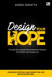 Design Your Hope by Andra Donatta Cover