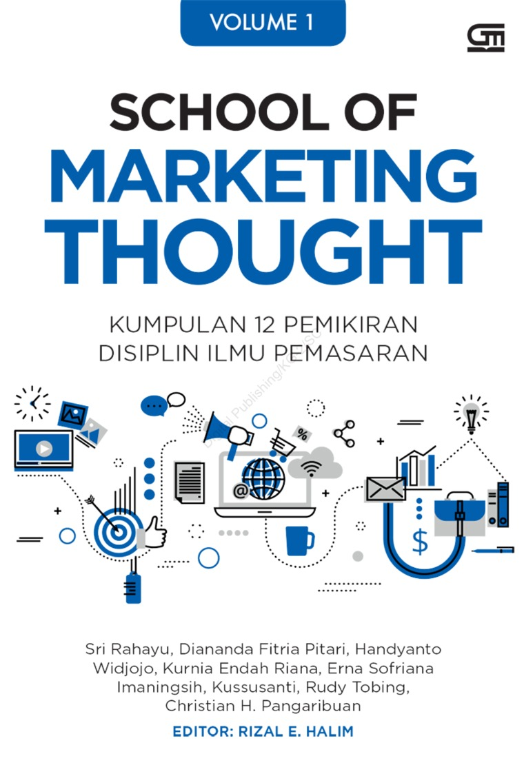 Buku Digital School of Marketing Thought 1 oleh Sri Rahayu dkk