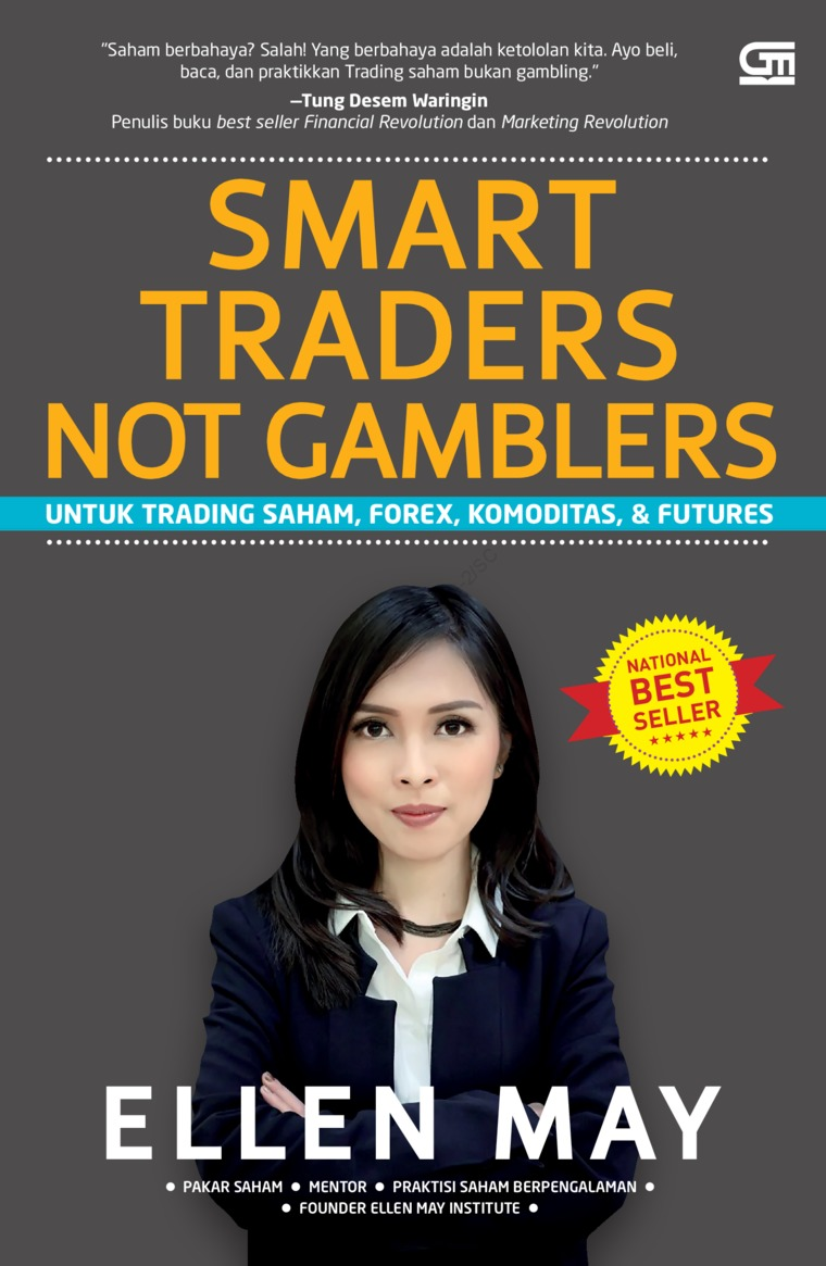Buku Digital Smart Traders Not Gamblers (Cover Baru) oleh Ellen May