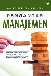 Pengantar Manajemen by Hery, S.E., M.Si., CRP., RSA., CFRM. Cover