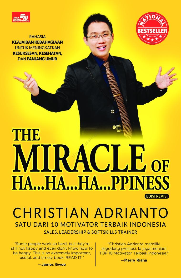 Buku Digital The Miracle of Happiness edisi revisi oleh Christian Adrianto