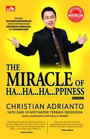 Cover The Miracle of Happiness edisi revisi oleh Christian Adrianto