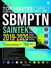 Cover Top Master SBMPTN SAINTEK 2019 - 2020 oleh Tim Sigma