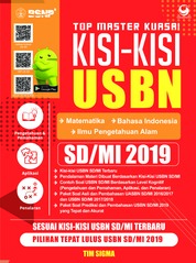 Cover Top Master Kuasai Kisi - Kisi USBN SD / MI 2019 oleh Tim Sigma