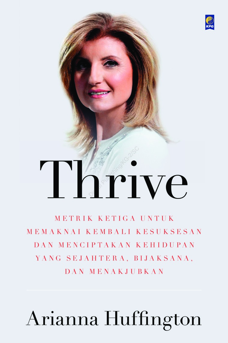 Buku Digital Thrive oleh Ariana Huffington
