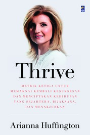 Cover Thrive oleh Ariana Huffington