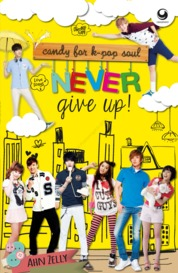Cover Never Give UP! oleh Ahn Zelly
