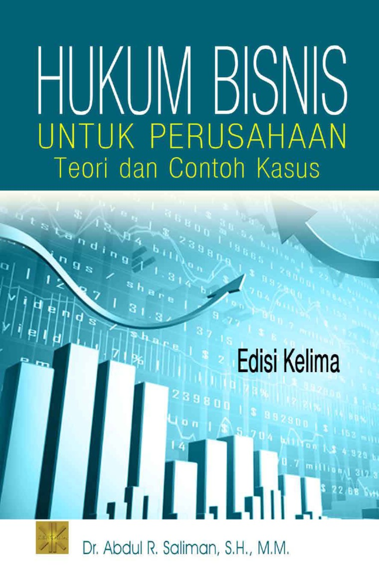 Buku Digital hukum bisnis untuk perusahaan oleh Dr. Abdul R. Saliman, S.H., M.M.