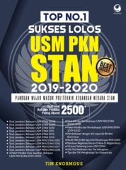 Top no. 1 Sukses Lolos USM PKN STAN 2019-2020 by Tim Enormous Cover