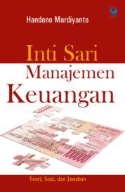 Cover Inti Sari Manajemen Keuangan oleh Handono Mardiyanto