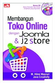 Cover Membangun Toko Online dengan Joomla & J2Store oleh M.Hilmi Masruri & Java Creativity