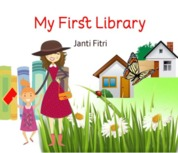 Cover My First Library oleh Janti Fitri