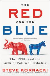 Cover The Red and the Blue oleh Steve Kornacki